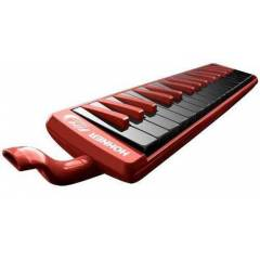 C943274 Hohner Fire Red/Black Melodika