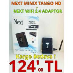 NEXT MİNİX HD TANGO + NEXT 2.4 WİFİ ADAPTOR