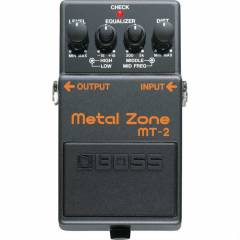 Boss MT2 Metal Zone Pedal