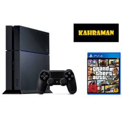 SONY PS4 500 GB  + GTA 5 + PS4 KULAKLIK