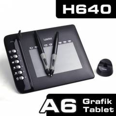 UC-LOGIC UCH640 ÇİFT KALEMLİ HOT KEY GRAFİK TABL