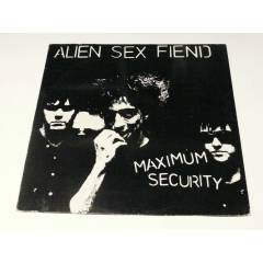 ALİEN SEX FİEND - Maximum Security , LP 1985