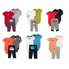 CARTERS 3'LÜ SET, 5 MODEL- 0- 3 -6-9-12-18AY