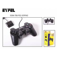 EYFEL EGM-706 PS2 PLAYSTATION2 GAMEPAD OYUN KOLU