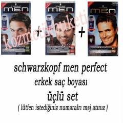 Schwarzkopf Men Perfect Jell Boya - 3l� set