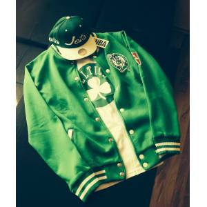 BOSTON CELT�CS COLLEGE JACKET Kolej Mont NBA