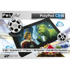 Polypad C518 7.0 8GB Android 4.2 Tablet PC