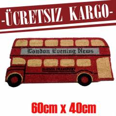 LONDON BUS KAPI ÖNÜ PASPASI VINTAGE 6041