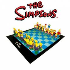 Simpsons Satranç Seti 3D Chess