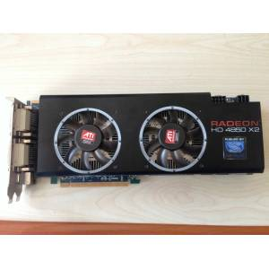 RADEON HD 4850 X2 2 GB 512 BIT EKRAN KARTI ��FT