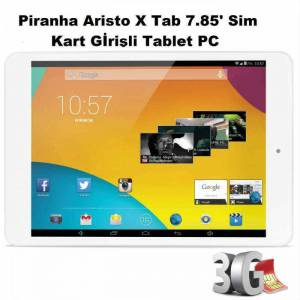 Piranha Aristo X Tab 7.85' Sim Giri�li Tablet PC