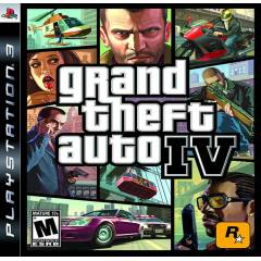 GRAND THEFT AUTO GTA 4 Ps3 oyun