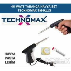 40 WATT TABANCA HAVYA SET TECHNOMAX TM-9113