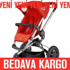 Quinny Buzz 3 Bebek Arabası Red Revolution