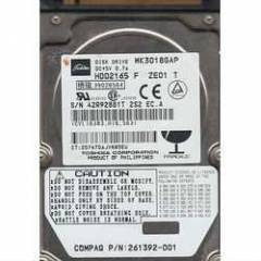30 GB IDE TOSHIBA HDD2165 NOTEBOOK DISK