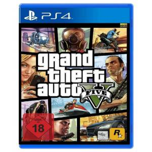 GTA 5 PS4 Grand Theft Auto V PS4 SIFIR KUTUSUNDA