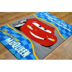 DISNEY D139 MC QUEEN ARABALI ÇOCUK HALI 120X180