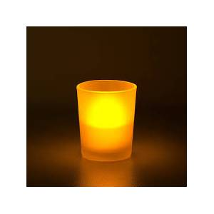 Cam Mumluk ��i Led Tea Light Mum