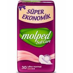 Molped Soft Care Ultra Normal Hijyenik Ped 30 lu