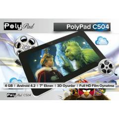 Poly Pad C504 7' Android 4.2 4GB Tablet PC