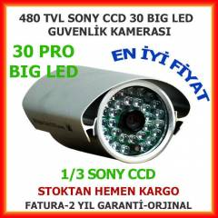 1.KALİTE GÜVENLİK KAMERASI 30HIGH PRO LED 480TVL