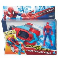 Spiderman Araç ve Figür Turbo Capture Raccer