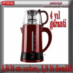 KİNG k-8500 bordo TeaMax ÇAYMATİK - ÇAYCI