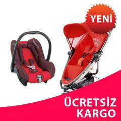 Quinny Zapp Extra Travel Bebek Arabası Red