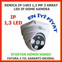 RENICA 1,3MP 3,6 MM 3 ARRAY LED IP KAMERA