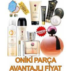 AVON FAR AWAY + PLANET SPA ONİKİ PARÇA FULL SET