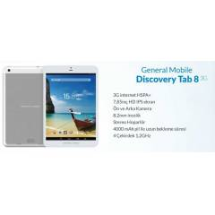 GENERAL MOBILE DISCOVERY  TAB 8 3G-WİFİ TABLET