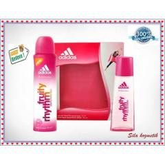 Adidas Fruity Rhythm EDT 50 ML  Bayan Parfüm Set