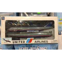 MODEL UÇAK BOEING 747 UNITED AIRLINES ORJİNAL