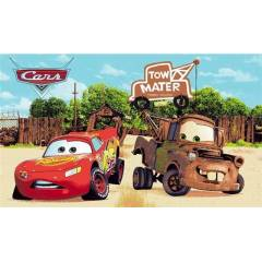 MCQUEEN CARS VE TOM MATER SÜRTMELİ ARABA SETİ