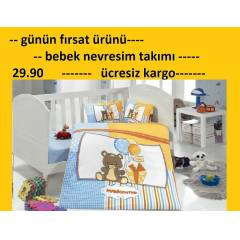 BEBEK  NEVRESİM TAKIMI OUTLET WELCOME  26.70