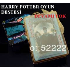 Harry Potter İSKAMBİL OYUN KAĞIDI POKER DESTESİ