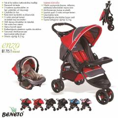 BENETO BT-715T ENZO TRAVEL SET BEBEK ARABASI
