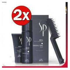 WELLA SP MEN PIGMENT MOUSSE GRADUAL TONE BLACK