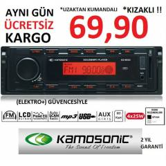 KAMOSONİC MX 65 OTO TEYP USB + SD + FM