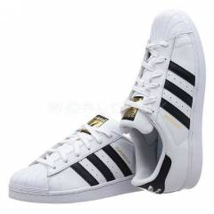 ADIDAS SUPERSTAR WHITE-BLK WMNS SHOES