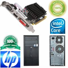 HP  CORE 3.4GHZ ATİ 1GB  EKRAN KARTI+17İNC LCD