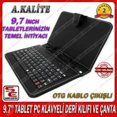 9.7 TABLET PC KLAVYELI DERİ KILIF SYROX