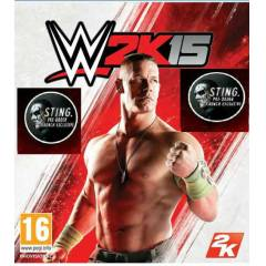 PS3 WWE 2K15 PS3 PAL STiNG DLC HEDİYELİ
