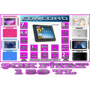 CONCORD TABLET 4 �EK�RDEK ��LEMC� HD EKRAN 8GB
