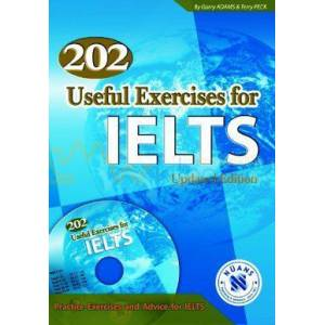 202 Useful Exercises for IELTS with MP3 Audio CD