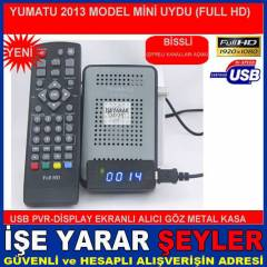 YENİ DISPLAY göz YUMATU FULL HD MİNİ UYDU CİHAZI