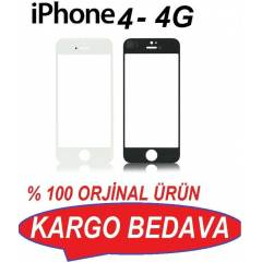 İPHONE 4-4G EKRAN CAMI ORJİNAL+2 FİLM