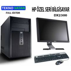 HP DX2300 + 17 DELL EKRAN FULL SİSTEM BİLGİSAYAR