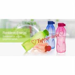TUPPERWARE SULUK EKO ŞİŞE SET 4 ADET 500 ML ŞİŞE