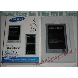 Orjinal Samsung Galaxy Note 3 Mini N7505 Batarya